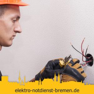 Steckdose reparieren vom Elektro Notdienst Blumenthal